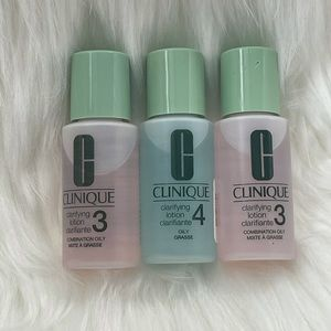 🎁 Clinique Clarifying Lotion Formula 3 and 4🎁